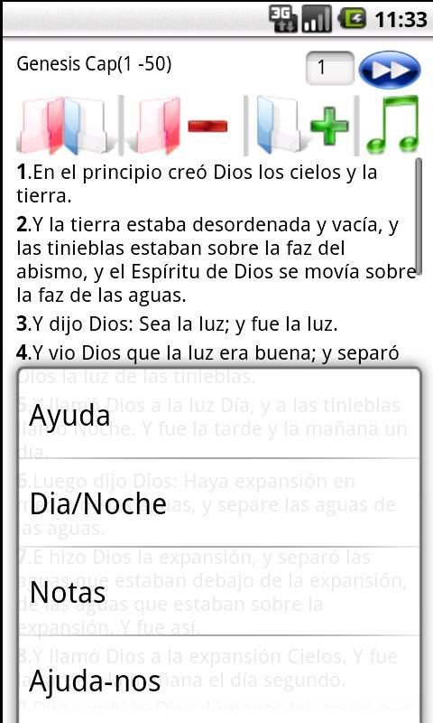Holy Bible Reina Valera 1960 - screenshot