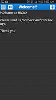 Screenshot of R Note Free