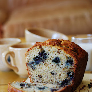 Banana Bread with Blueberries Recipe