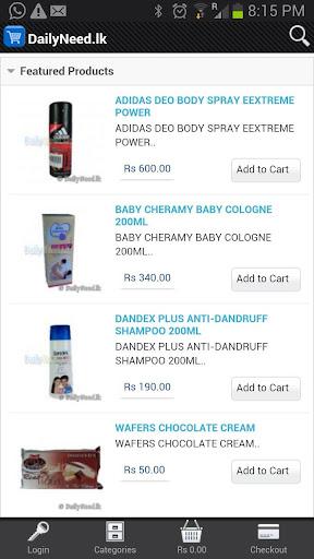 DailyNeed Online Store Akurana