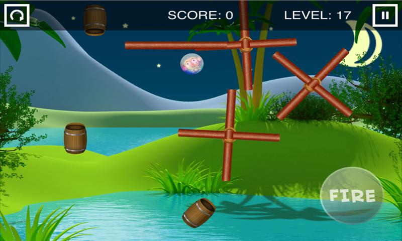 Monkey Barrel Game- screenshot