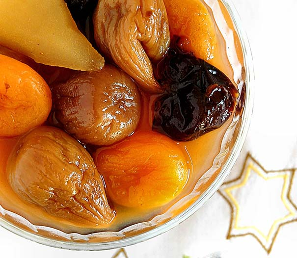 Sugarless Fruit Compote Recipe