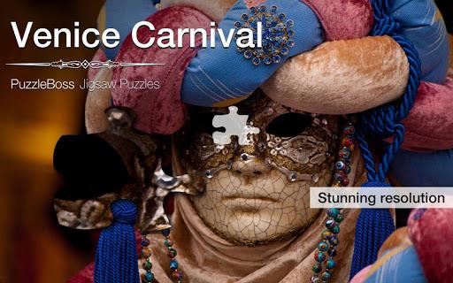 Venice Carnival Jigsaws Demo