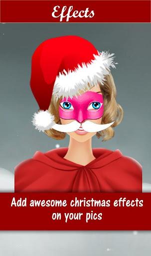 Santa Face Changer