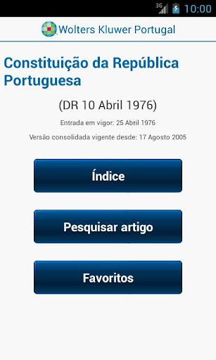 Constituição Rep. Portuguesa