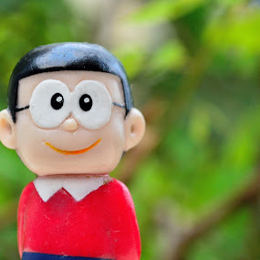 Nobita by Zaddam Hussein H.R - Artistic Objects Toys ( nobita, badploi, japan, cartoon, still life, movie, nikon d3200, ploi, character )