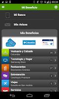 Screenshot of Mi Beneficio