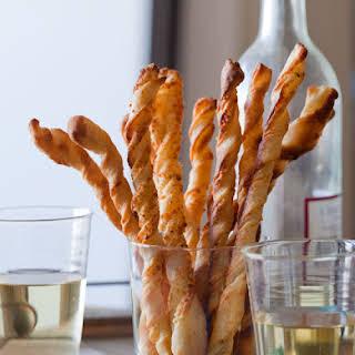 Parmesan Garlic Straws.