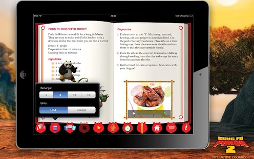 Kung Fu Panda 2 CookBook LITE