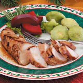Grilled Turkey Tenderloins.