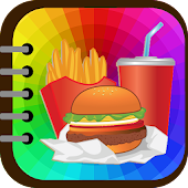 Kids Coloring : Food