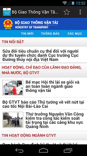 Bo Giao Thong Van Tai Viet Nam