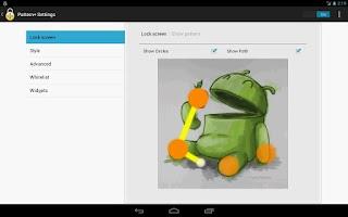 Screenshot of Pattern+ : Picture Unlock