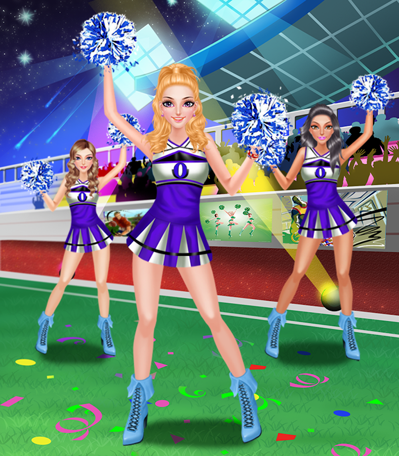 Cheerleading Fashion Games