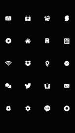 SMPL White Theme Go/Nova/Apex Screenshot 3