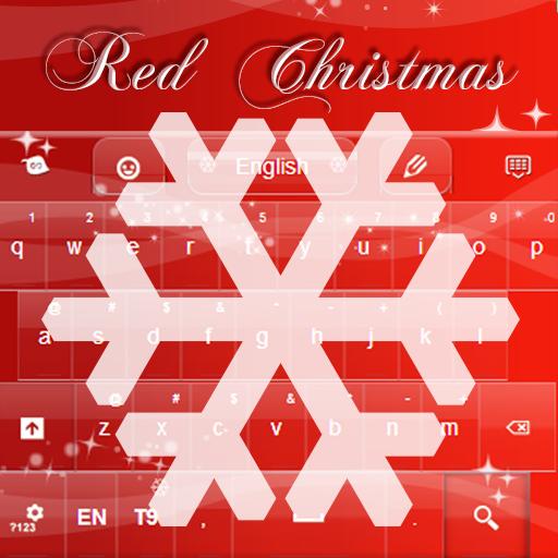 聖誕鍵盤紅色為GO LOGO-APP點子