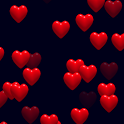 Hearts 2D Live Wallpaper icon