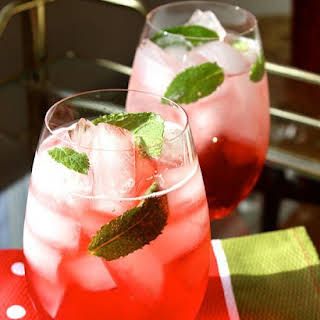 Campari Mint Spritz.