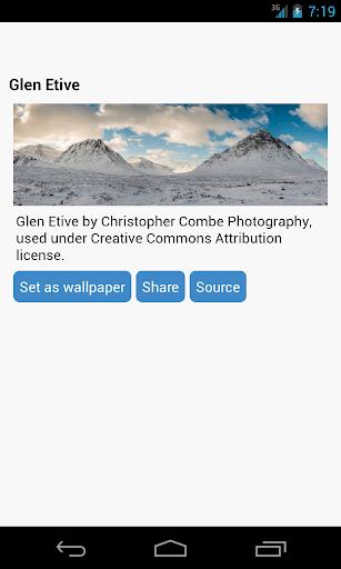 無料个人化Appのマウンテン壁紙|記事Game