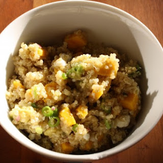 Quinoa Salad with Avocado, Mango, and Feta