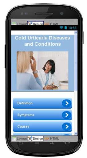 Cold Urticaria Information