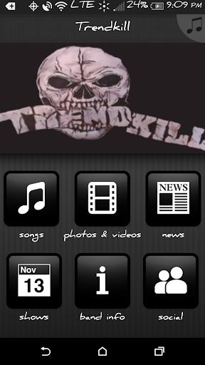 Trendkill Band App