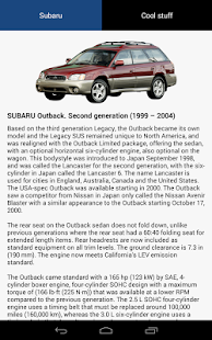 SUBARU In My Pocket - screenshot thumbnail