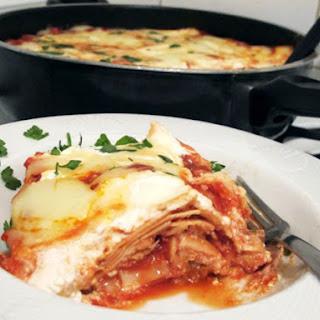 Stovetop Chicken Lasagna