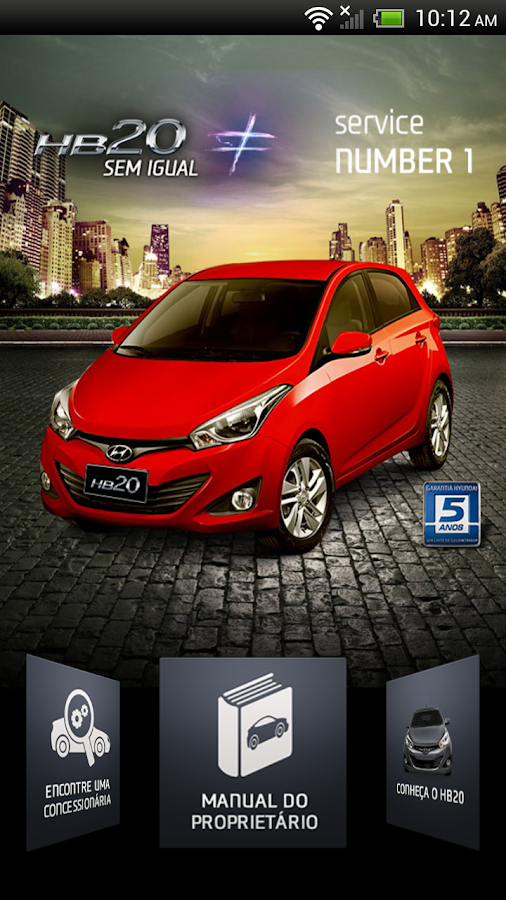 Meu hyundai hb20 android apps on google play for Hyundai motor finance app