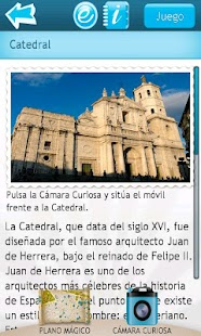 Valladolid Aumentada: miniatura de captura de pantalla