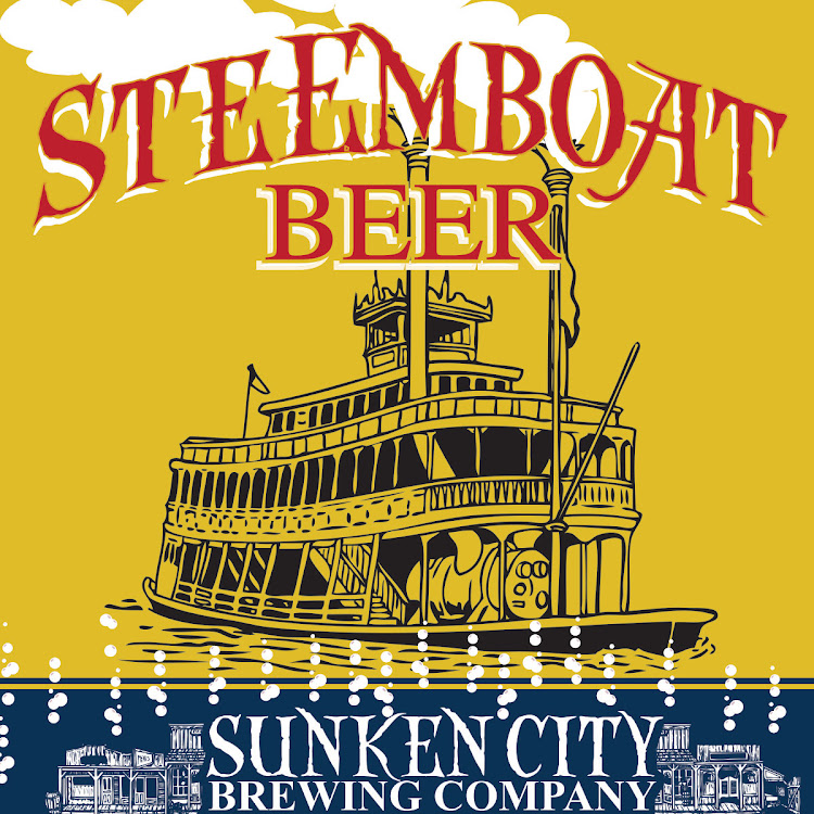 Logo of Sunken City Steemboat Beer