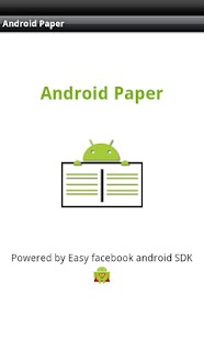 Android Paper - screenshot thumbnail