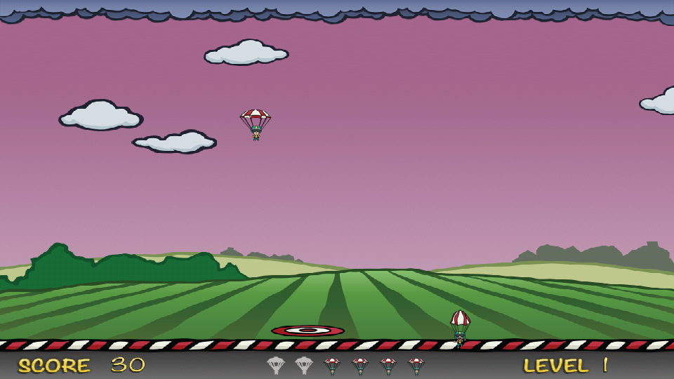 Parachute Drop Free- screenshot