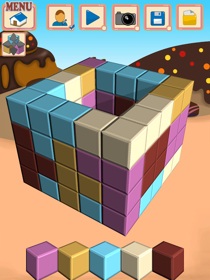 Sugar Cubes SMASH block puzzle- screenshot