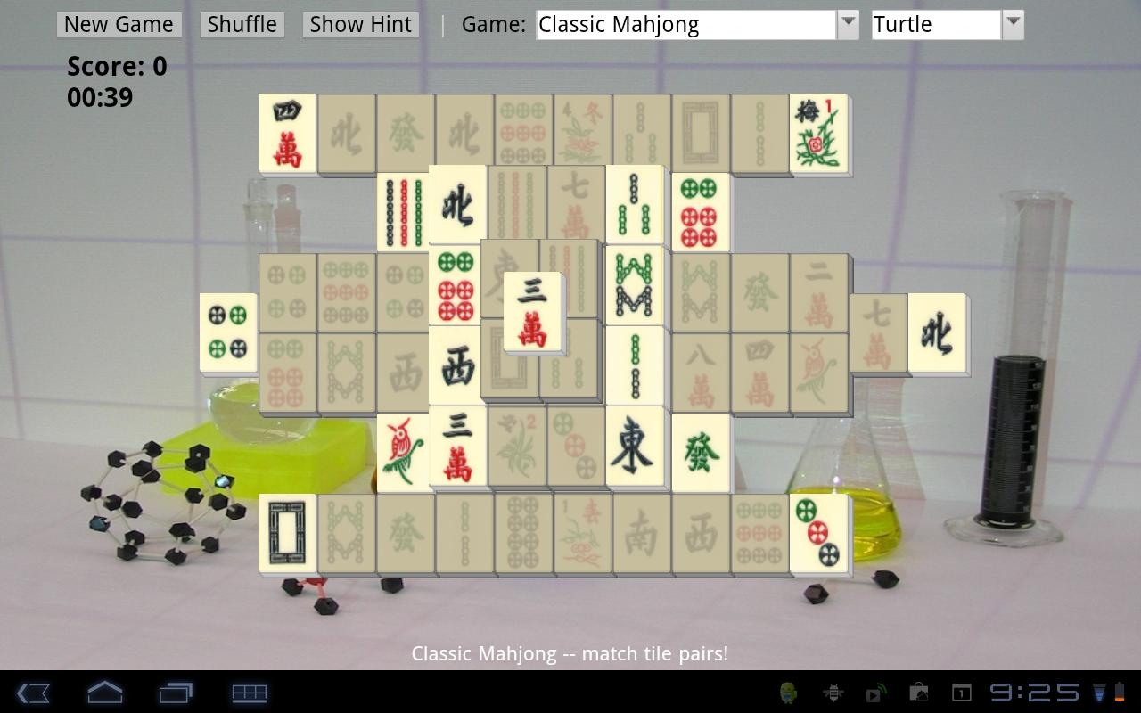 Mahjong Chem - screenshot