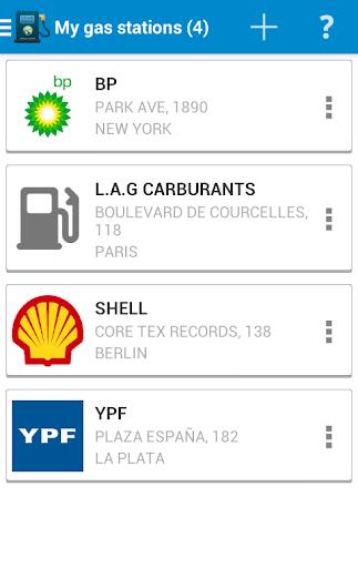 【免費交通運輸App】Refueling Consumption-APP點子