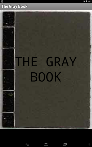 The Gray Book
