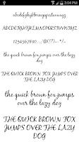 Screenshot of Fonts for FlipFont #19