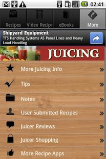 Juicing Recipes, Tips & More! - screenshot thumbnail