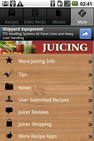 Juicing Recipes, Tips & More! - screenshot