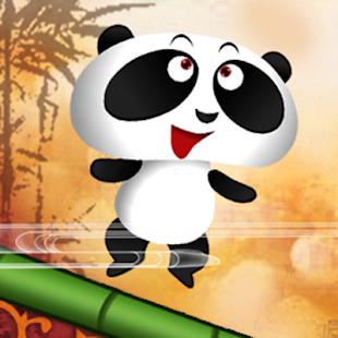 Swing Panda Food Jam: Run Jump