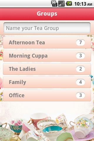 Teatime- screenshot