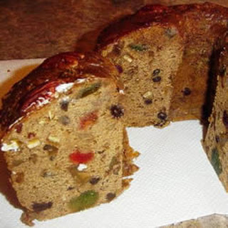 Holiday Bourbon Fruitcake