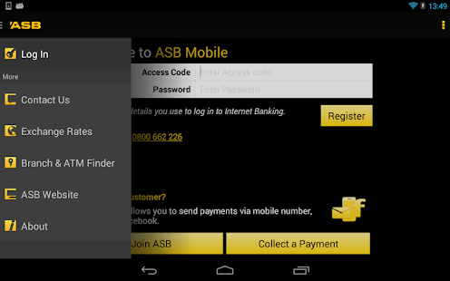 ASB Mobile Banking - screenshot thumbnail