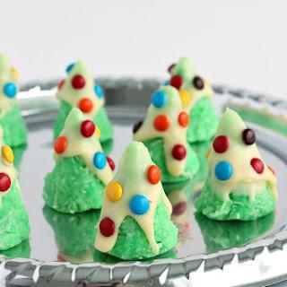 No-Bake Christmas Tree Cookies
