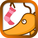 X-Xmas Socks GOLauncherEXTheme icon