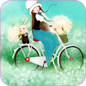 Lovely Girl Live Wallpaper icon