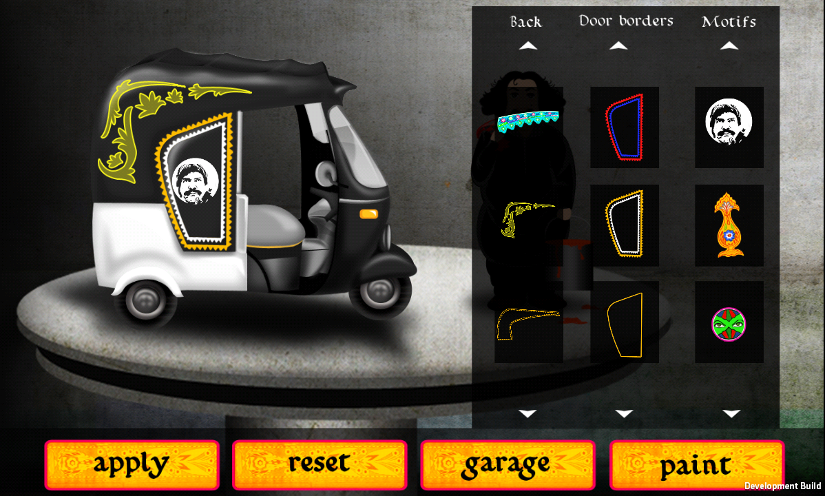 Warid Rickshaw Racing- screenshot