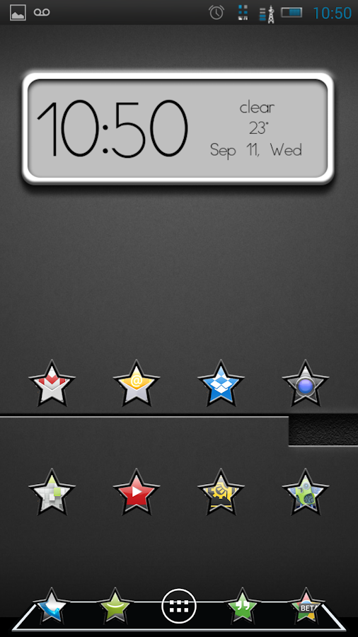 SUPERSTAR  (apex, nova, adw) - screenshot