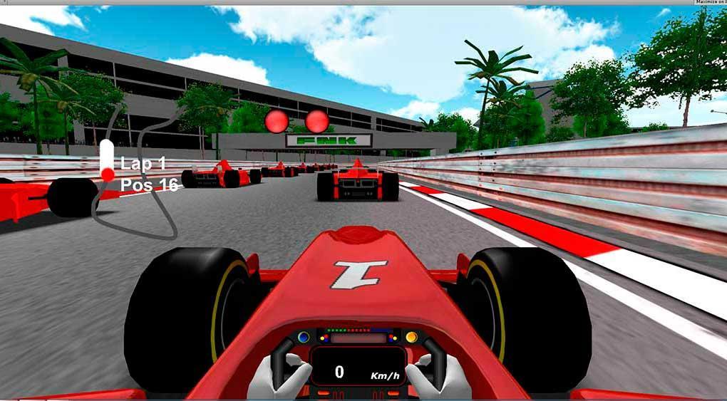 Formula Unlimited Racing- screenshot